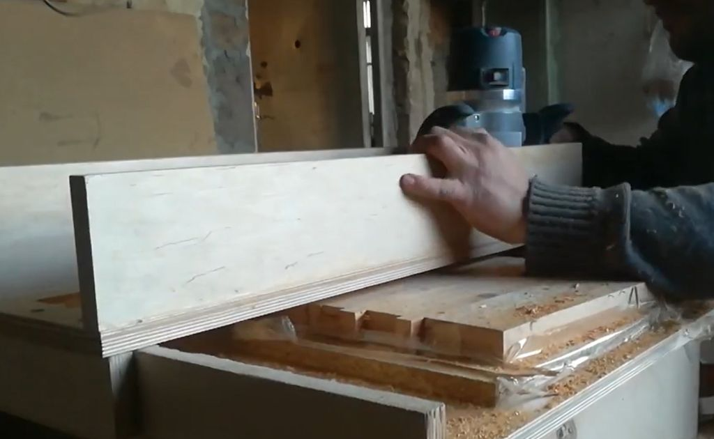 Picture of Trimming the Board