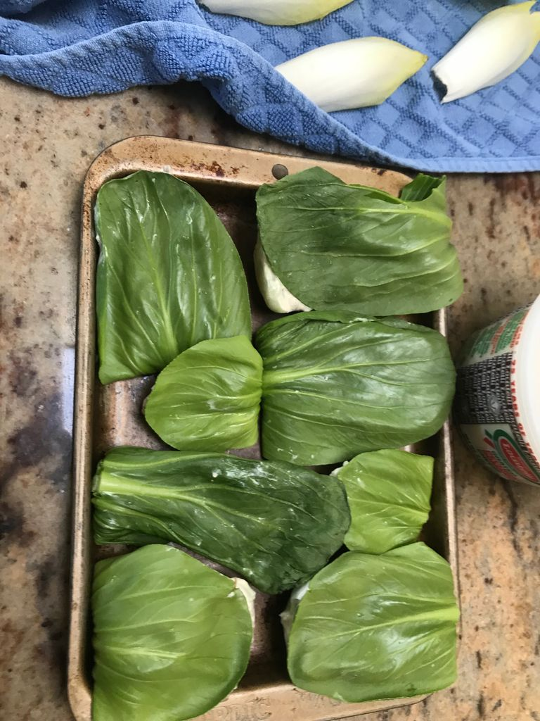 Picture of Putting It All Together - Endives and Baby Bok Choy