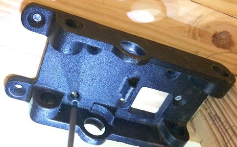Mount the Vise Plate