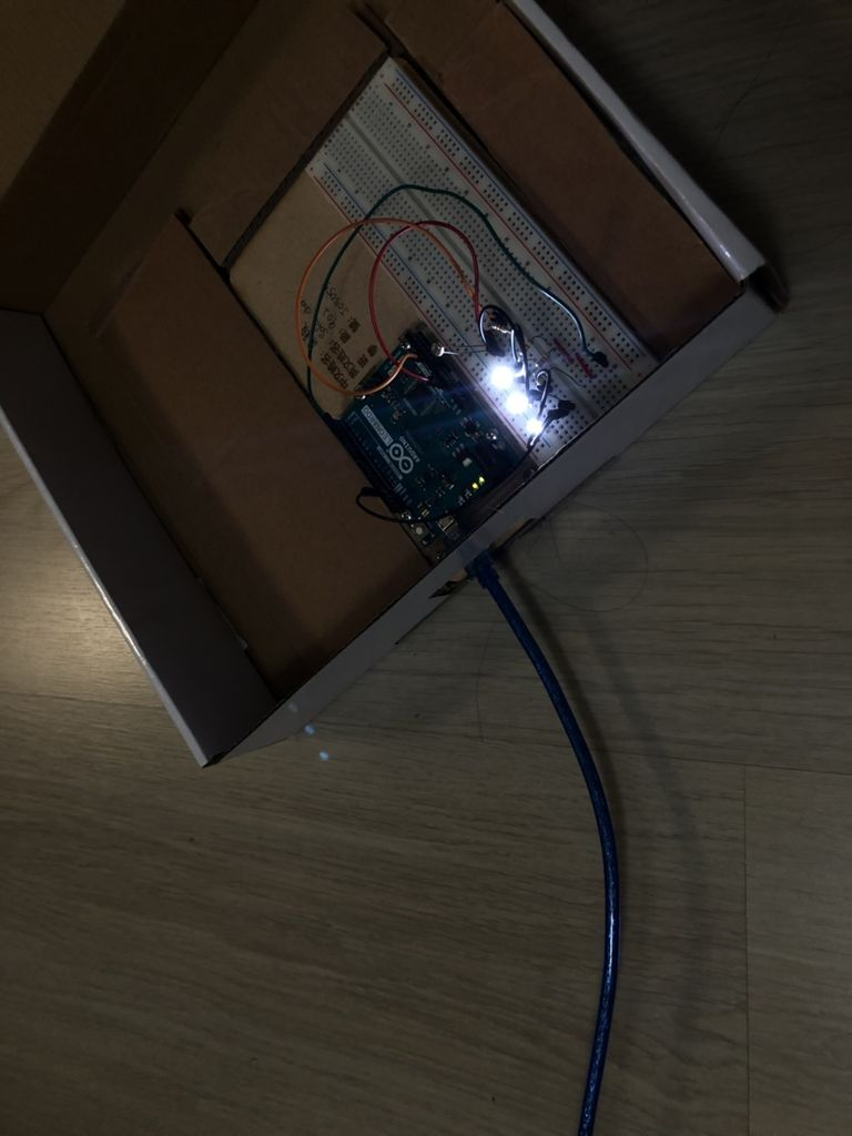 Picture of Don't Forget to Make a Hole for Connecting the Electronic Power!!!