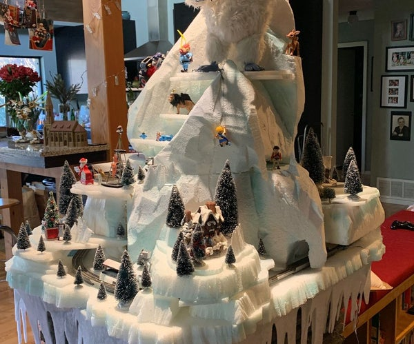 Building an Icy Winter Wonderland!