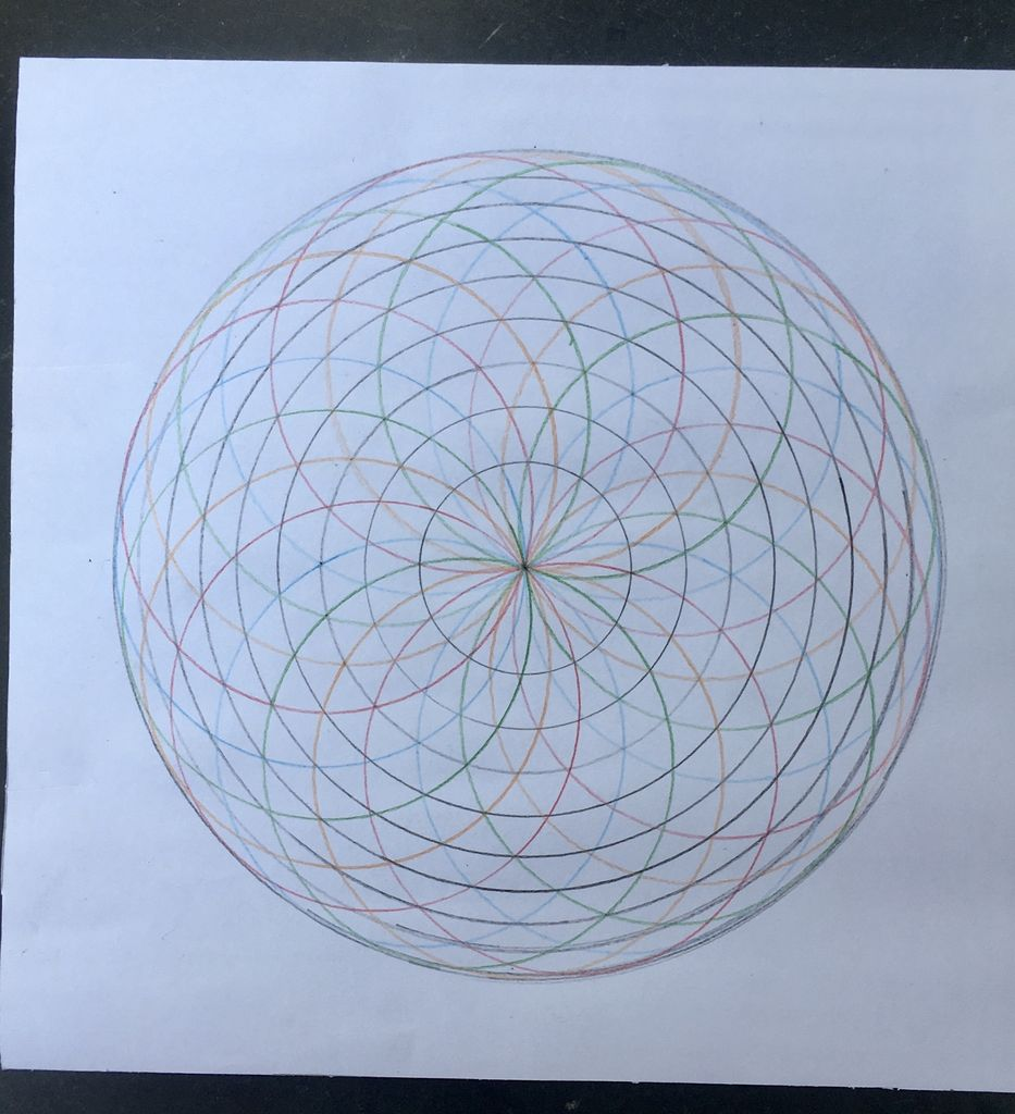 Picture of HOW TO DRAW MANDALA