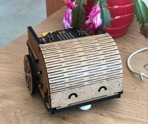 DIY益智科技:位机器人