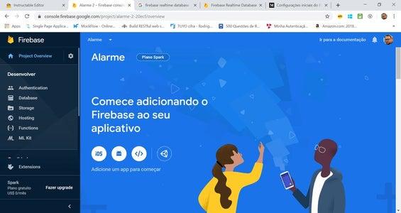 Firebase Passo 4 De 8:  Adicionando O Firebase Ao Aplicativo Android
