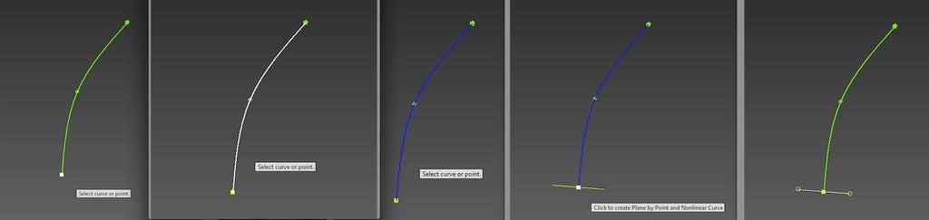 Create a Work Plane at Each Point