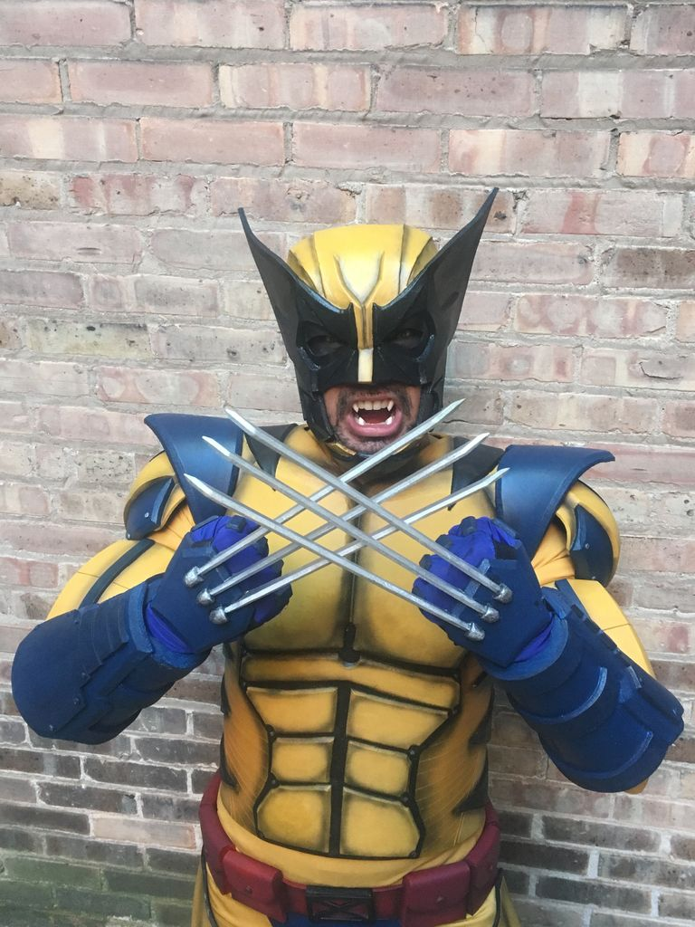 """Picture of How to Make an X-Men """"Wolverine"""" Costume"""