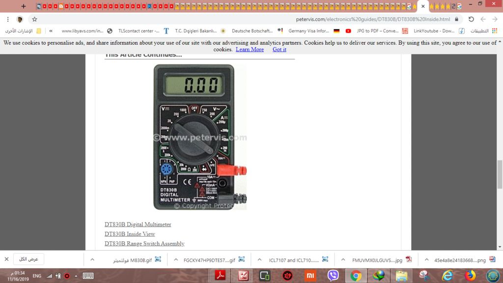 Picture of HOW CAN ADD BUZZER TO DIGITAL MULTI METER DT830B