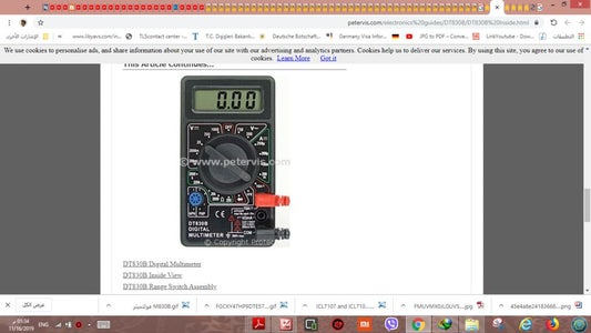 HOW CAN ADD BUZZER TO DIGITAL MULTI METER DT830B