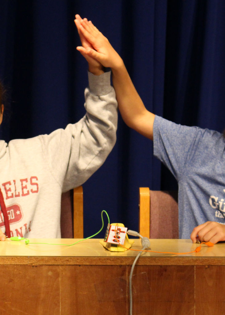 Picture of Answer Students' Questions and Provide More Opportunities to Interact With Makey Makey