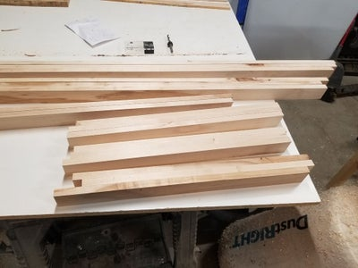 Cutting and Milling the Lumber Used for the Base