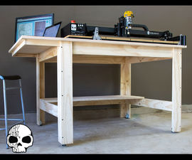 DIY Workshop Table (From Plywood!)