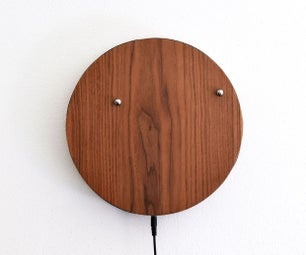 Mesmerizing Magnetic Wall Clock