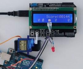 一个Arduino在另一个Arduino上玩Chrome迪诺游戏