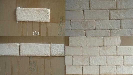 Starting Line, Gluing a Brick.