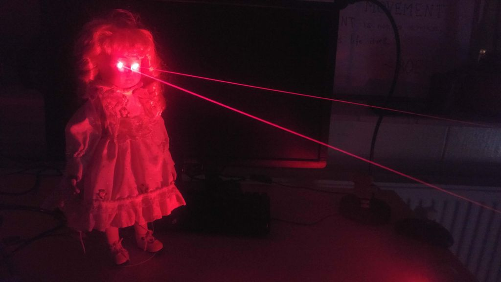 Picture of Laser Eye Doll