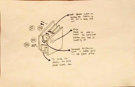 Design 5.1 - Shooting Mechanism