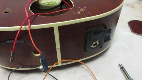 Modify Your Ukulele to Mount Amplifier Parts