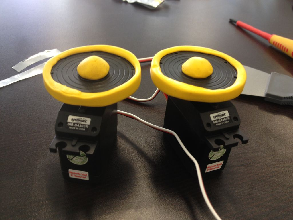 Picture of Simple Sugru Robot Wheel