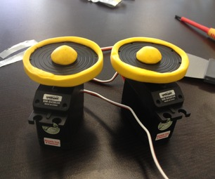 Simple Sugru Robot Wheel