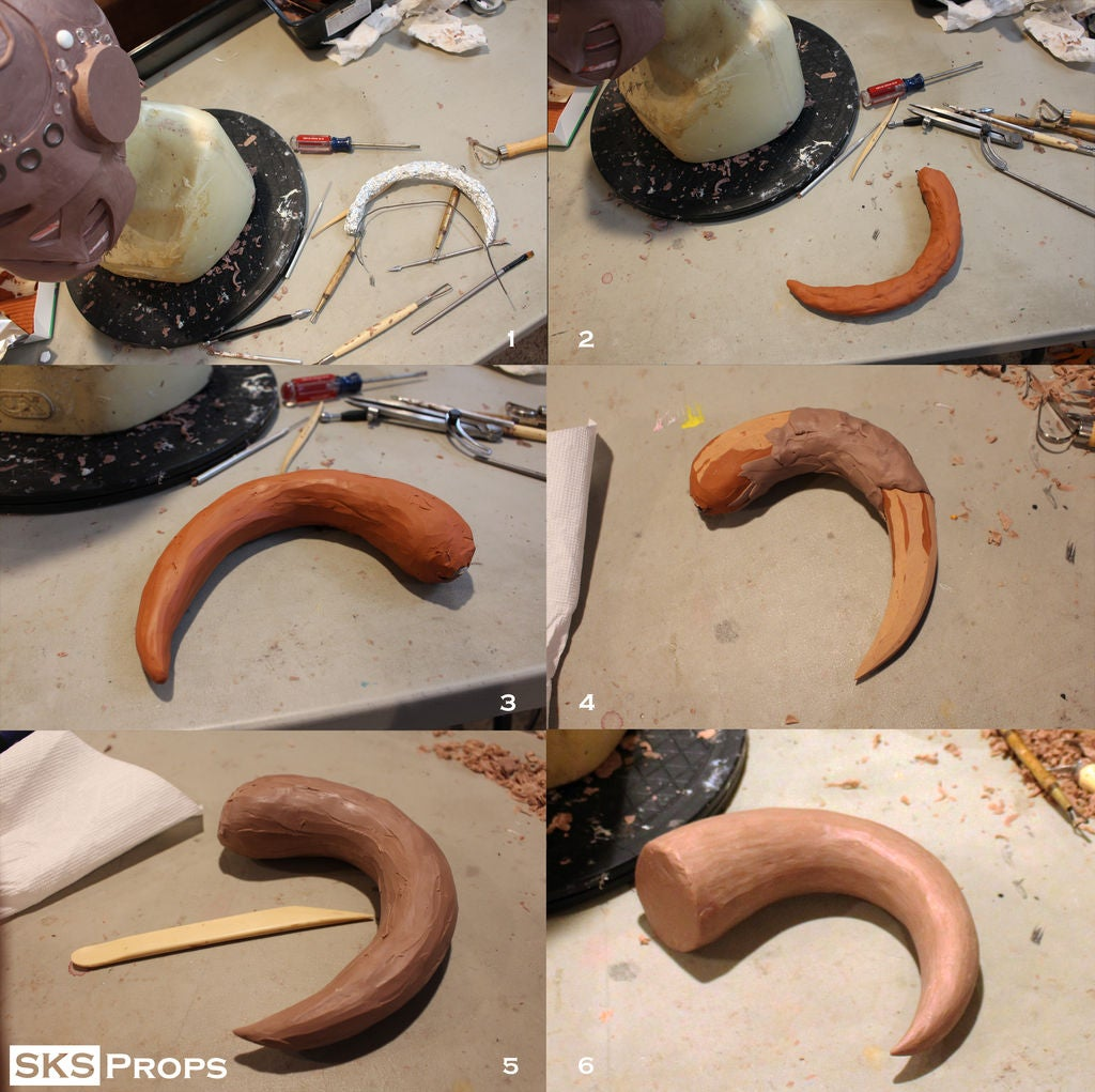 Picture of Making the Horns