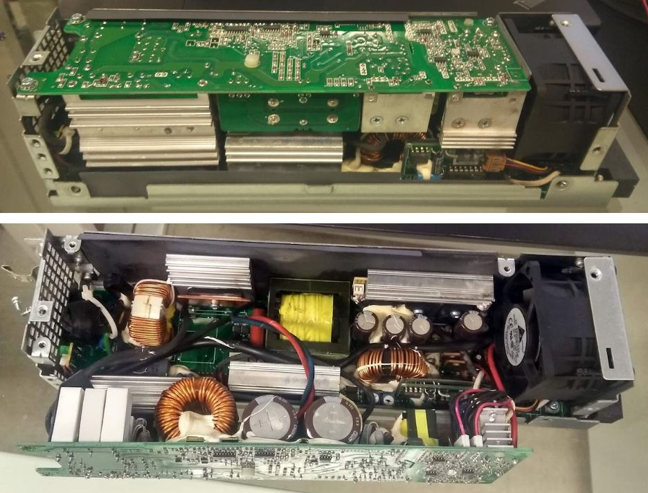 Picture of Modifying the Power Supply — 2