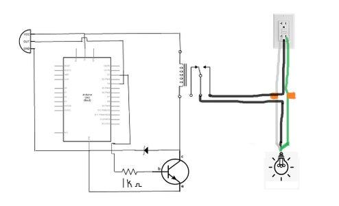Room Light Controlled Using PIR Sensor and Arduino : 6