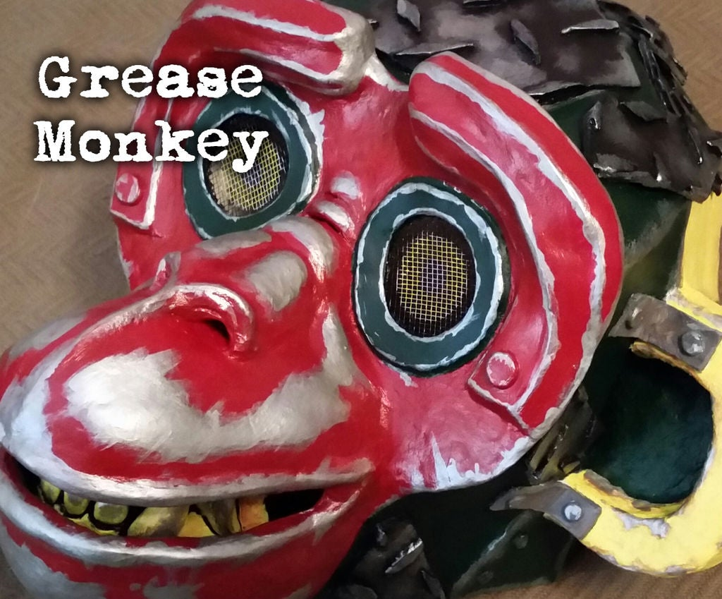 Picture of Grease Monkey Mask & Costume
