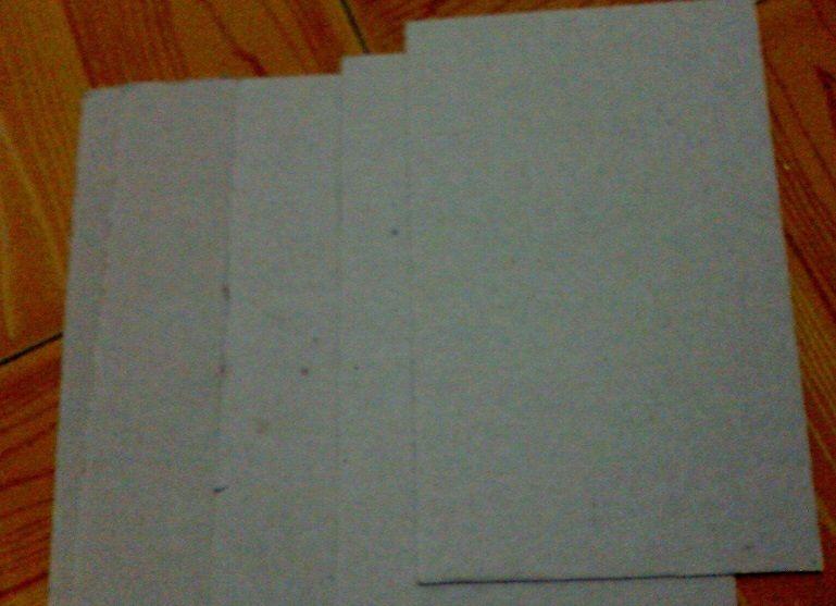 Picture of First Prepare a Few Cardboard