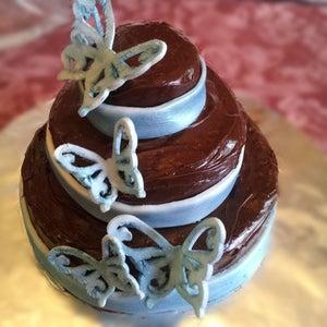Cupcake in a Cake Costume /Jumbo Wedding Cupcake