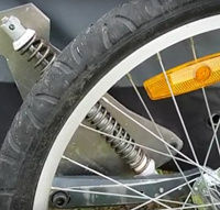Picture of Aftermarket Suspension for the Croozer Bicycle Trailer