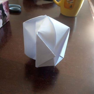 How to Make an Origami Cube Box with One Piece of Paper - DIY ... | 320x320