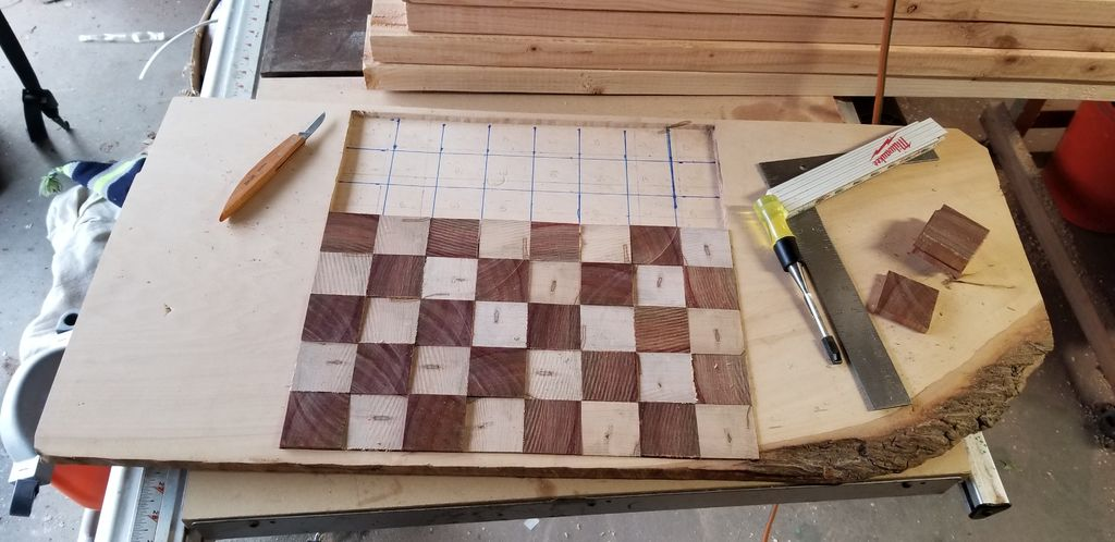 Picture of Cut and Layout Tiles