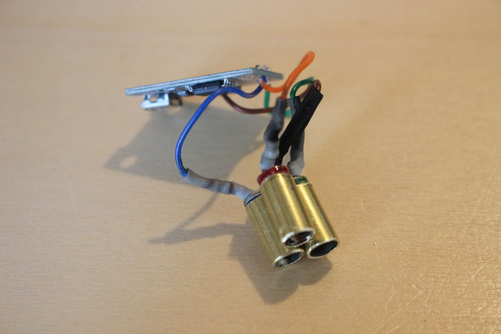 Picture of Attach the Led to the Fibers