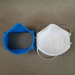 3D Print Face Mask and Optional Lid