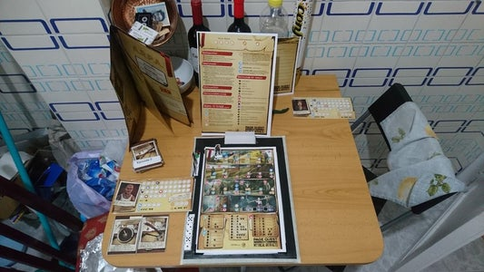 Magnetic Gaming Board for Pagequest/A4Quest
