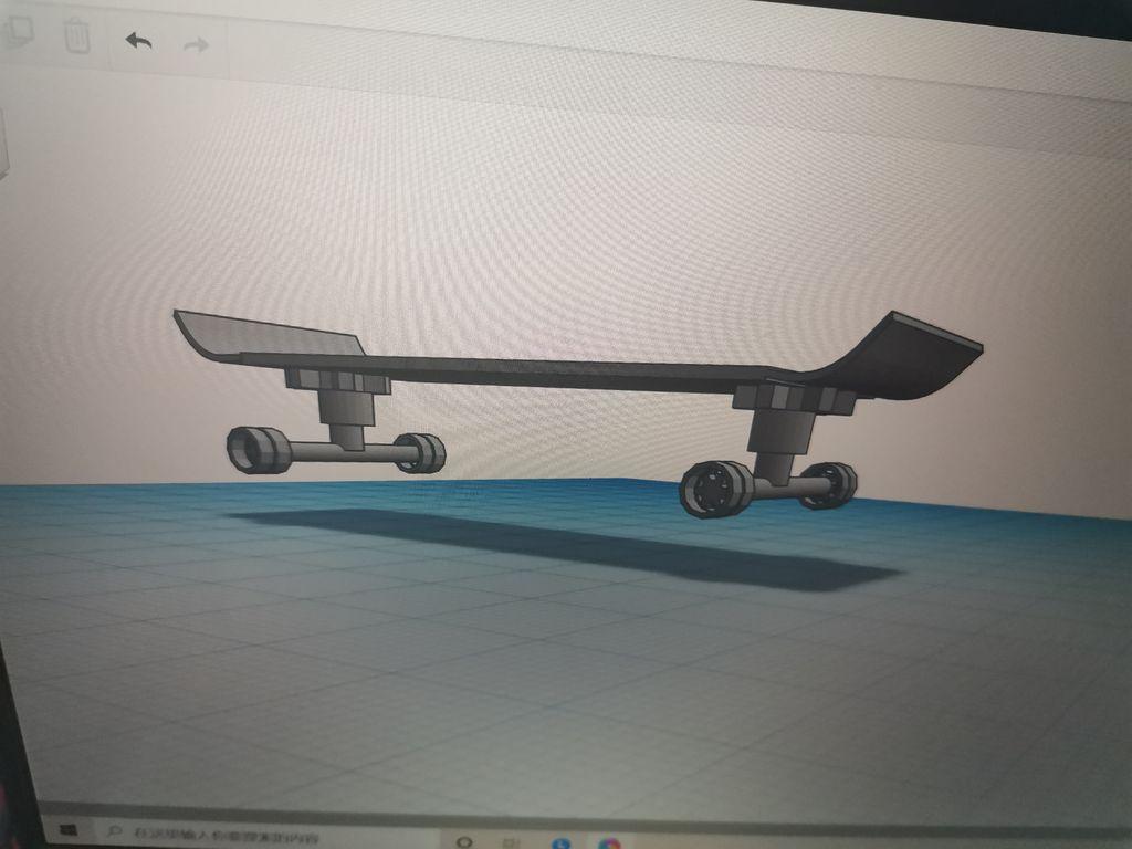 Picture of Non-slip Decompression  Skateboard