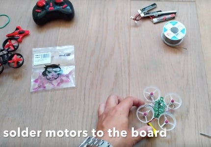 Install Motors and Board