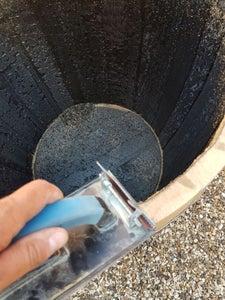 Cutting the Barrel Lid