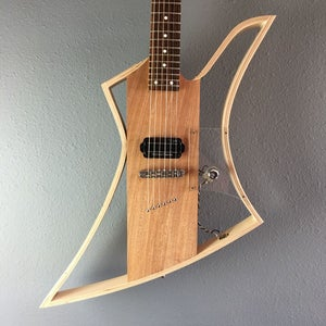 Bent Wood Lamination Electric Guitar