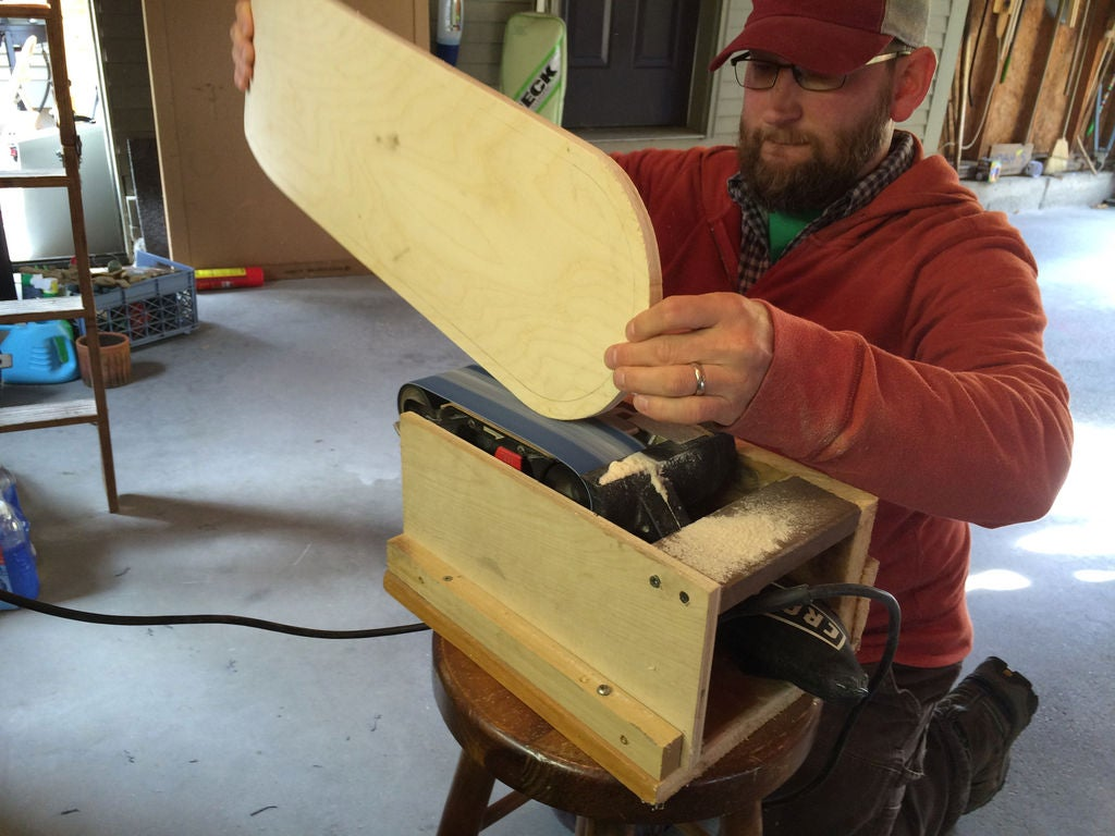 Picture of Sanding the Board