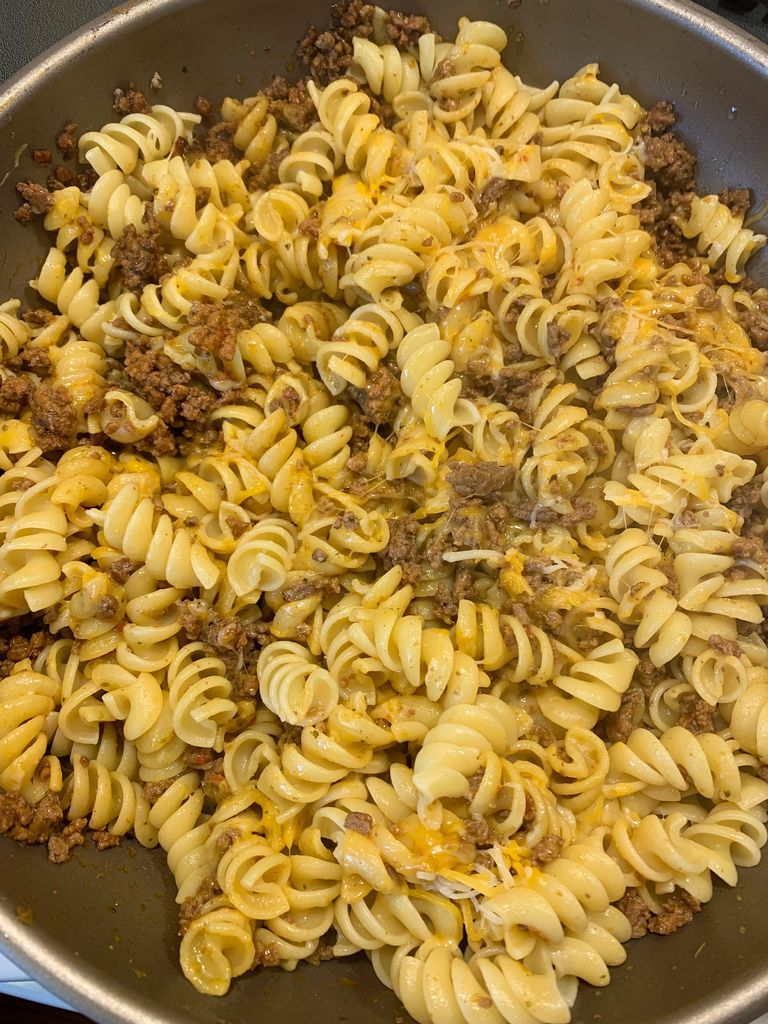Picture of Pasta With Ground Beef