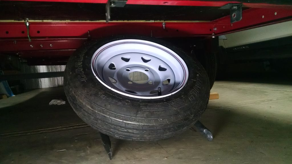 Picture of Spare Tire Storage