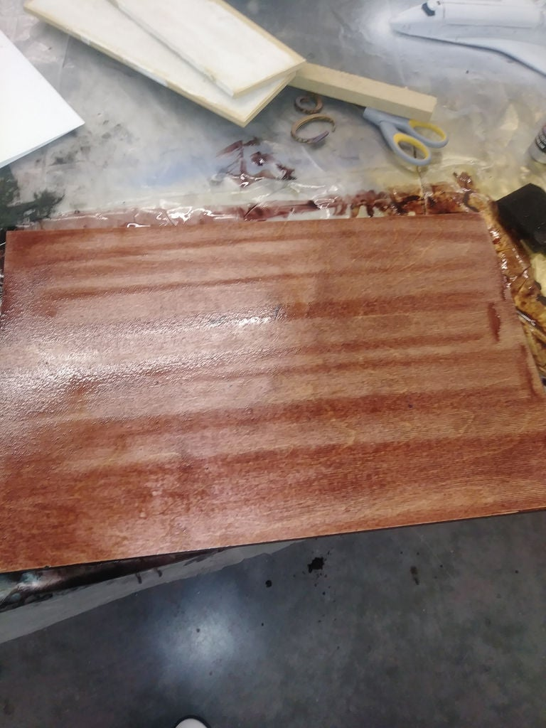 Picture of Step 7: Stain Wood