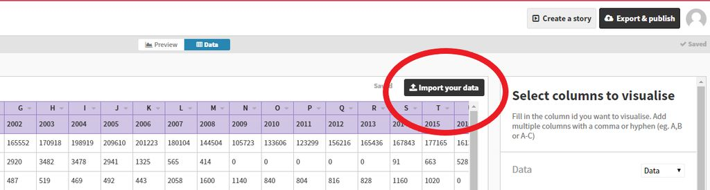 Picture of Import the Data