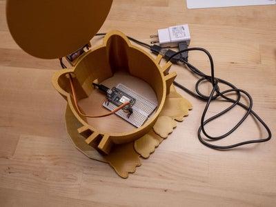 Cat Food Access Control (ESP8266 + Servo Motor + 3D Printing)