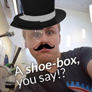 How to Make a Shoe-box Projector!