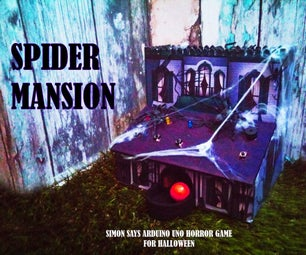 Spider Mansion (Simon Says Horror Game for HALLOWEEN)