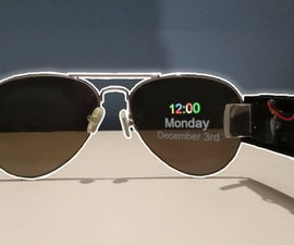 DIY Smart Glasses - Arduino/ESP