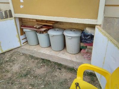 Backyard Cabinet