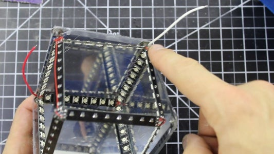 Wire the LED Strips Into the Box